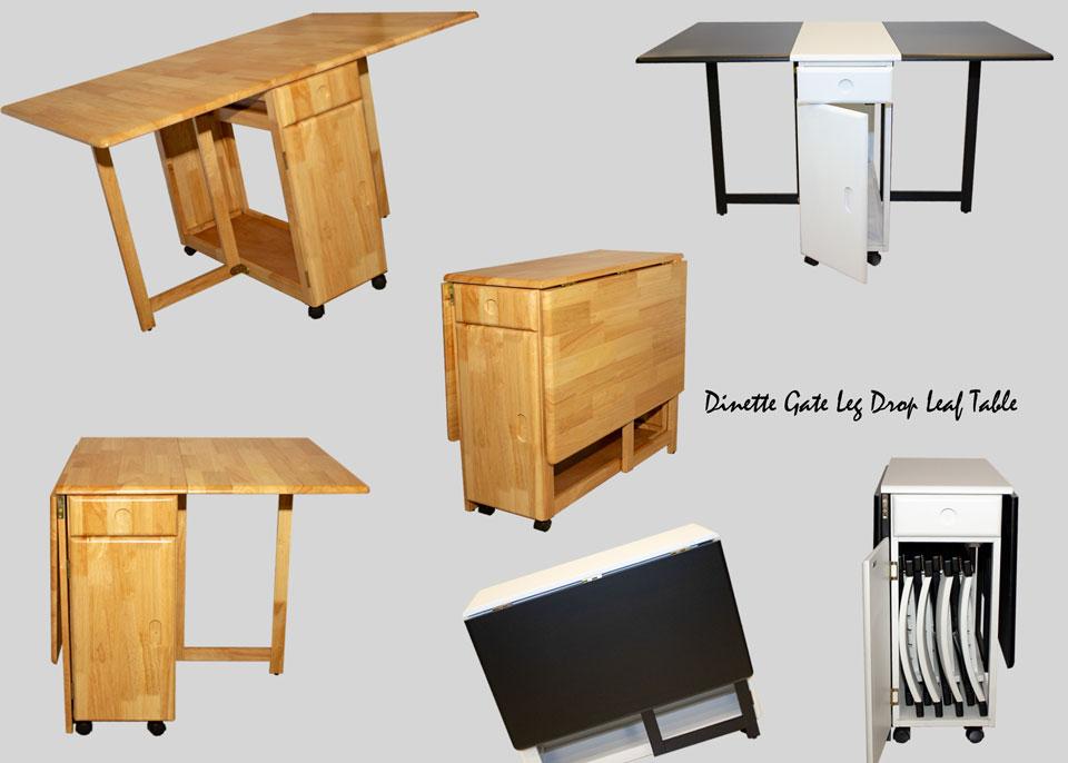 Dinette-Gate-Leg-Drop-Leaf-Dining-Series